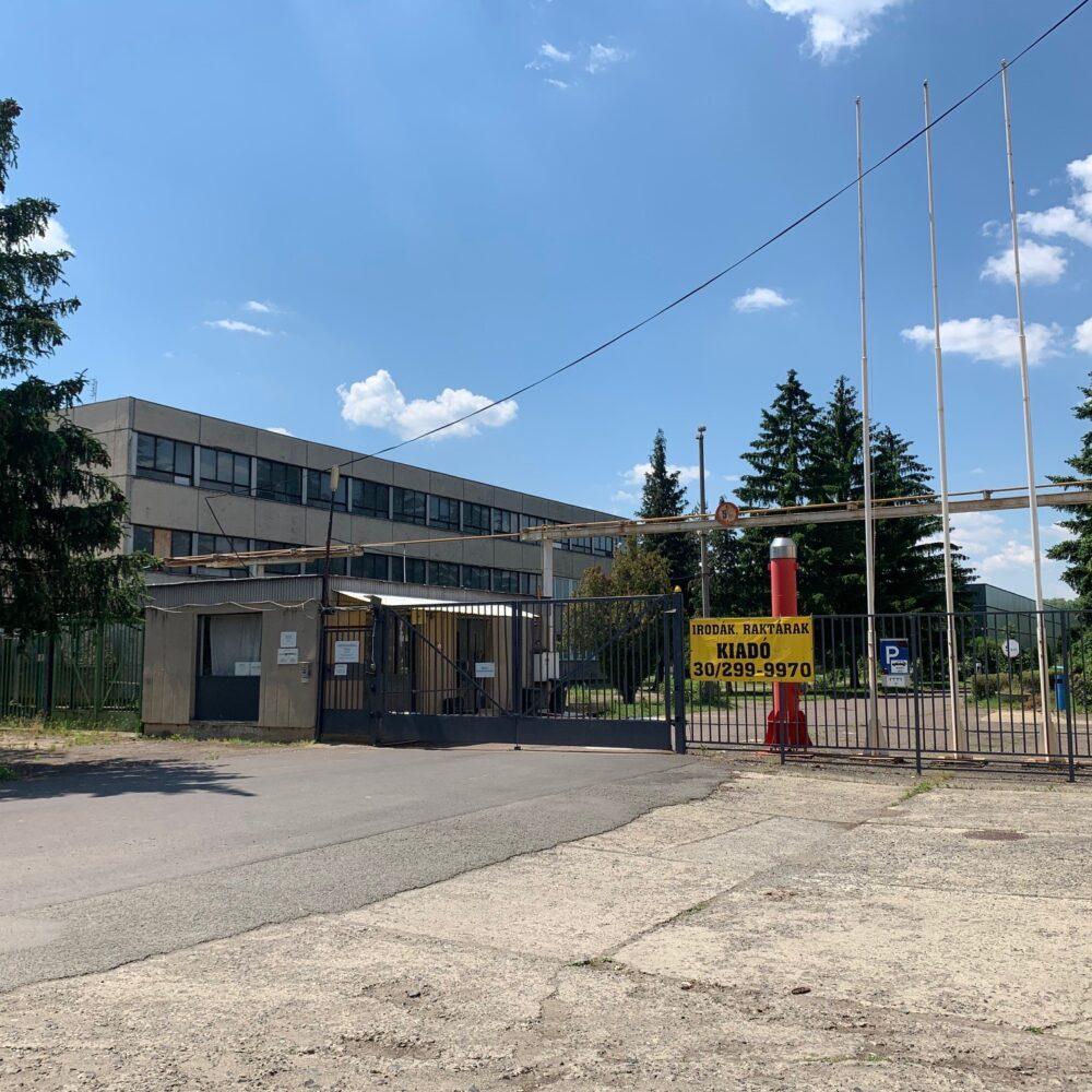 Kiadó gyártócsarnok Bátonyterenyén